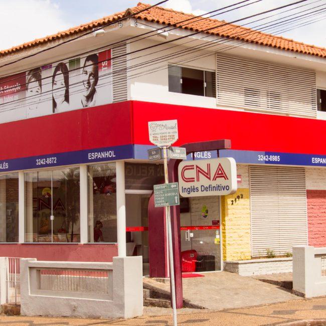 O CNA Mirassol fica localizado na Rua Campos Sales, n° 2192. Venha conhecer os pacotes especiais! (Foto: Natália Campanholo)