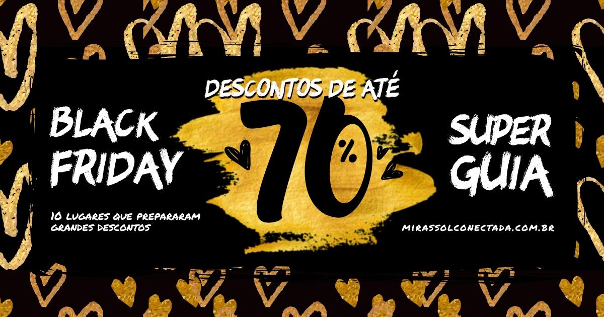 50ad49b415 Especial Black Friday  comércio tem descontos de até 70%