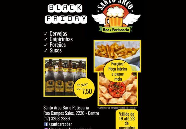 black santo arco flyer