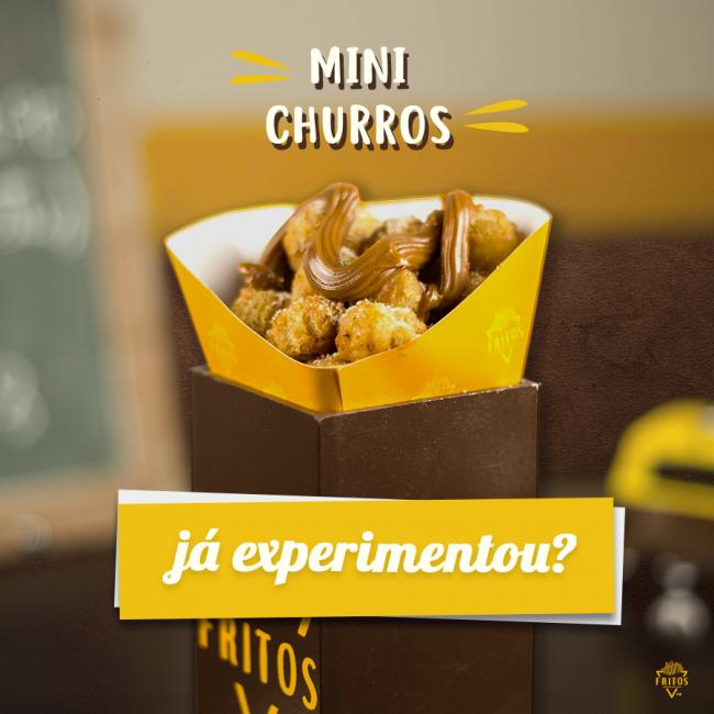 fritos mini churros