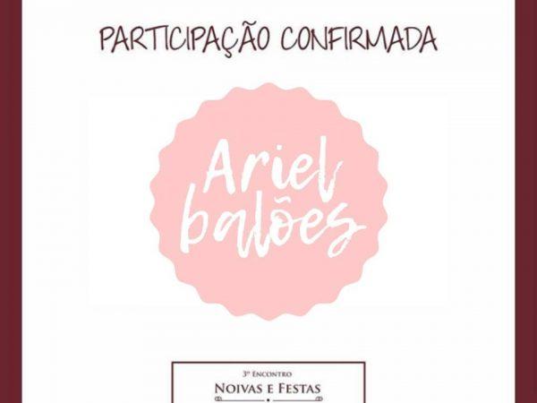NOIVAS E FESTAS ARIEL BALOES